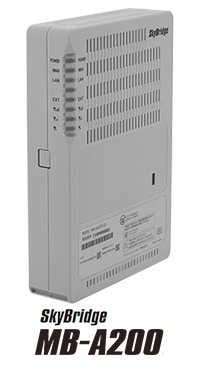 マルチキャリアLTE対応 IoTルーター SkyBridge MB-A200   セイコーソリューションズ